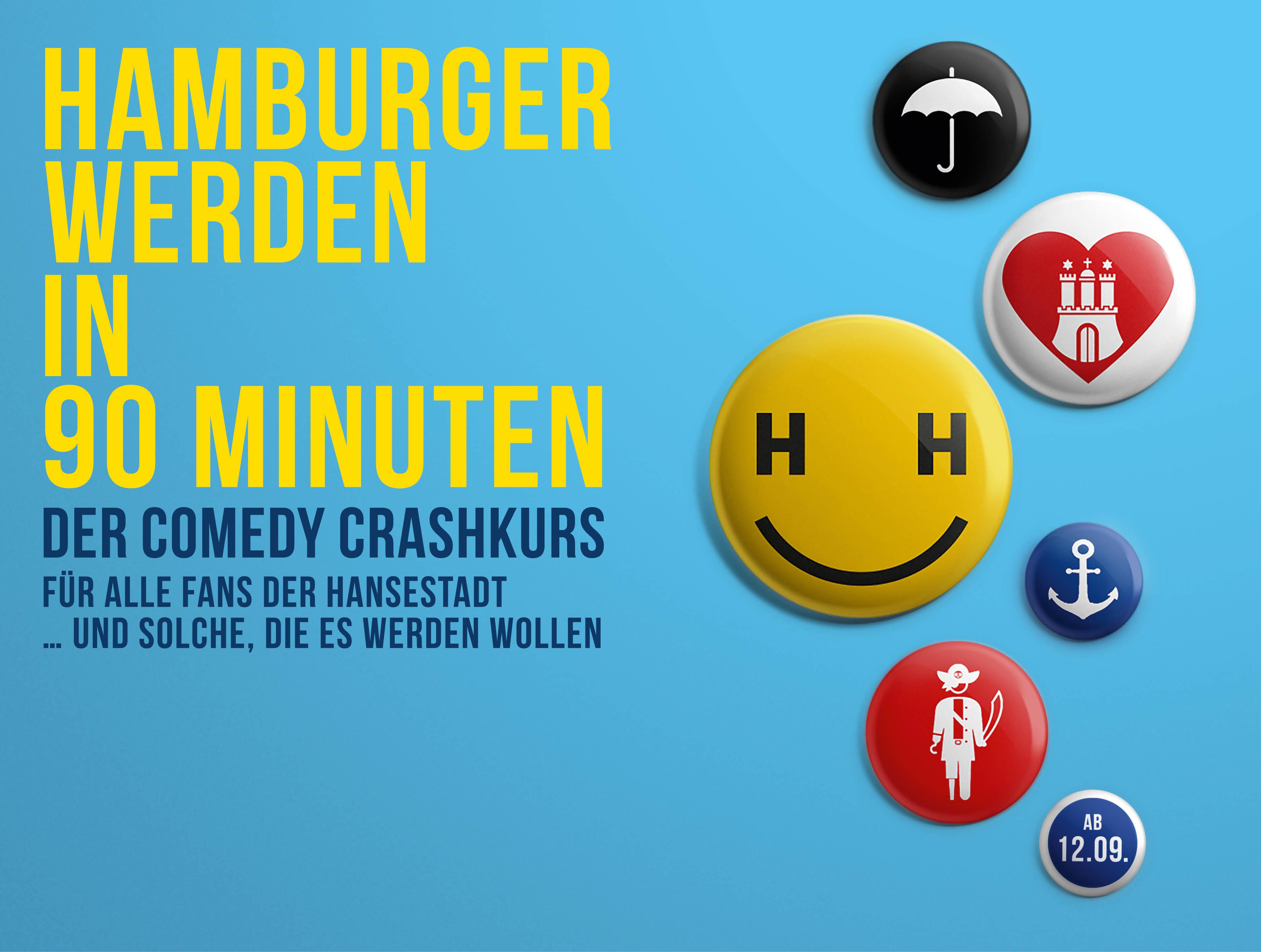 Hamburger werden in 90 Minuten